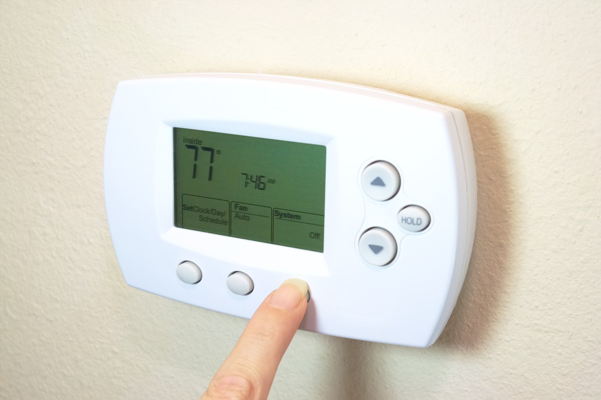 recommended thermostat settings