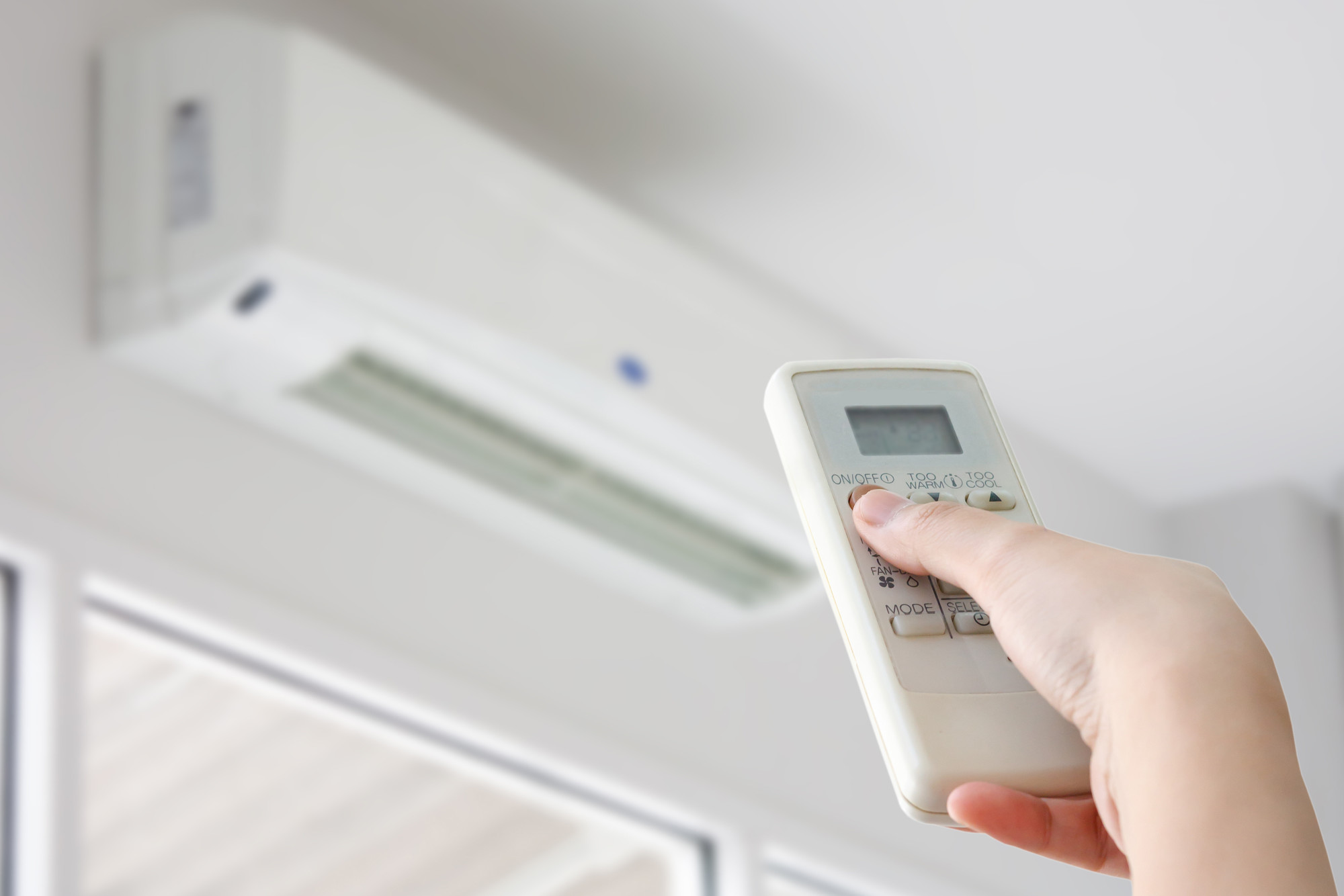 switching from heat to air conditioning
